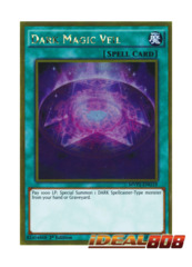 Dark Magic Veil - MVP1-ENG19 - Gold Rare - 1st Edition