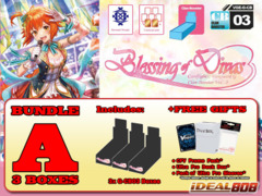 Cardfight Vanguard G-CB03 Bundle (A) - Get x3 Blessing of Divas Booster Box + FREE Bonus Item