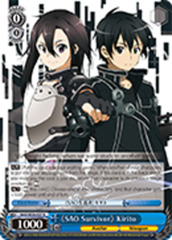 《SAO Survivor》 Kirito [SAO/SE26-E27 R (FOIL)] English
