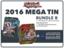 Yugioh 2016 Mega-Tin Bundle (B) - Get x6 2016 Mega-Tins (3 of Each) + Free Bonus Item (See Description) * Pre-Order Ships Sep.2