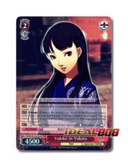 Yukiko in Yukata [P4/EN-S01-051S SR (FOIL)] English