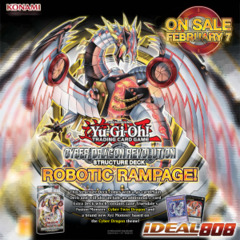 Yugioh Cyber Dragon Revolution Structure Deck (1st Edition)