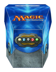 Magic the Gathering Commander Deck Box - Mana Blue on Ideal808