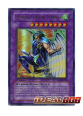 Elemental Hero Tempest - EEN-EN034 - Ultra Rare - Unlimited Edition