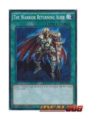 The Warrior Returning Alive - SR02-EN032 - Common - 1st Edition