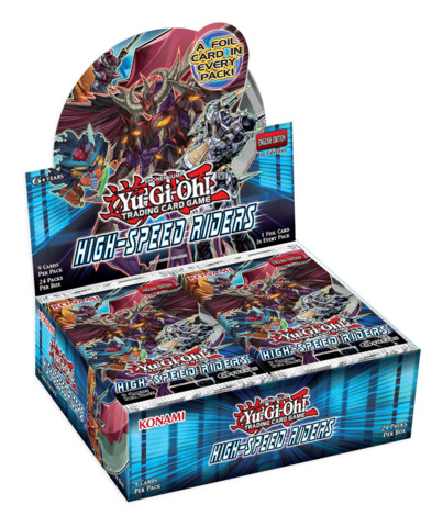 Yugioh High-Speed Riders Booster Box ** Pre-Order Ships October 2, 2015
