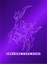 Pokemon DPt Platinum 62ct. Sleeves - The Advent of Arcceus Purple on Ideal808