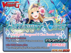 Cardfight Vanguard G-CB01 Bundle (B) - Get x6 Academy of Divas Clan Booster Box + FREE Bonuses