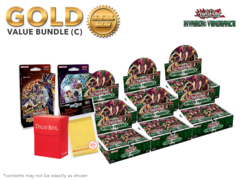 Yugioh Invasion: Vengeance Bundle (C) Gold - Get x6 Booster Boxes + Bonus Items (See Description) * PRE-ORDER Ships Nov.4