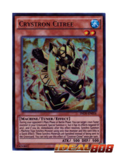 Crystron Citree - INOV-EN016 - Ultra Rare - Unlimited Edition