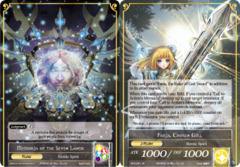 Faria, Chosen Girl // Memoria of the Seven Lands [BFA-091 R (Full Art Ruler)] English