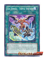 Six Strike - Triple Impact - STOR-EN049 - Common - Unlimited Edition
