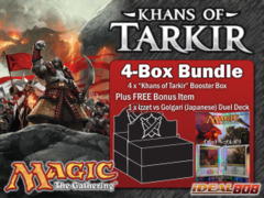 Magic KTK Bundle (B) - Get x4 Khans of Tarkir Booster Box + FREE Bonus (Duel Deck) on Ideal808