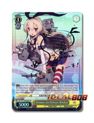 Shimakaze-class Destroyer, Shimakaze [KC/S25-E003SP SP (SIGNED FOIL)] English