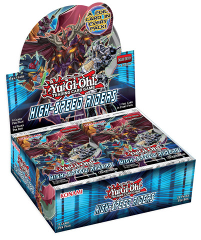 Booster SP: High-Speed Riders Booster Box - 1st Edition