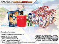 Weiss Schwarz KS Bundle (B) Silver - Get x4 Konosuba Booster Boxes + FREE Bonus * PRE-ORDER Ships Aug.25
