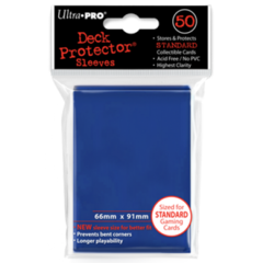 Ultra Pro Large Sleeves 50ct. - Blue (#82670)