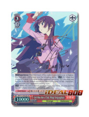 Girl Who Met a Crab, Hitagi Senjyogahara [BM/S15-E052SP SP (SIGNED FOIL)] English