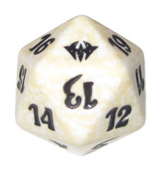 MTG Spindown 20 Life Counter - Dark Ascension (White)