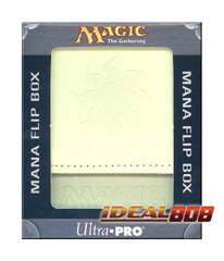 Magic the Gathering Mana Symbol Deck Box - White on Ideal808