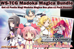 Weiss Schwarz Bundle - Get x2 Madoka Magica Booster Boxes plus x1 Shakuga no Shana V2 Sleeve on Ideal808