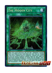 The Hidden City - TDIL-EN085 - Secret Rare - 1st Edition