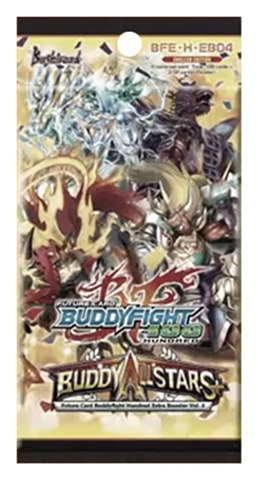 BFE-H-EB04 Buddy Allstars+ (English) Future Card Buddyfight Extra Booster Pack