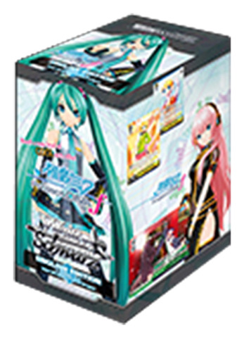 Hatsune Miku Project DIVA f (English) Weiss Schwarz Booster Box