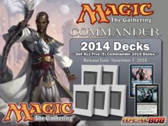 Commander 2014 (C14) - Complete Set of 5 ** Pre-Order Ships November 7, 2014 on Ideal808