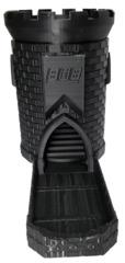 3D Dice Tower Castle - Black (iDeal808)