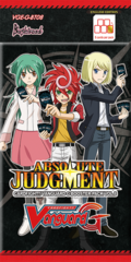 CFV-G-BT08 Absolute Judgment (English) Cardfight Vanguard G-Booster Pack