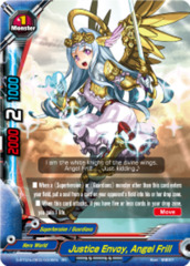 Justice Envoy, Angel Frill [D-BT02A-EB03/0006EN RR (FOIL)] English