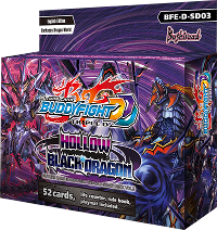 BFE-D-SD03 Hollow Black Dragon (English) Future Card Buddyfight Starter Deck
