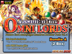 FC-Buddyfight H-BT03 Bundle (A) - Get x2 Assault of the Omni Lords Booster Box + FREE Bonus Items
