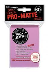 Ultra Pro Matte Non-Glare Small Sleeves 60ct - Pink (#84267)