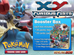 Pokemon XY Furious Fists Booster Box on Ideal808