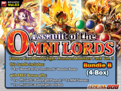 FC-Buddyfight H-BT03 Bundle (B) - Get x4 Assault of the Omni Lords Booster Box + FREE Bonus Items