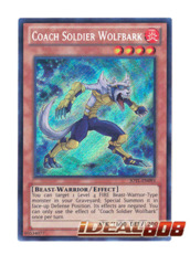 Coach Soldier Wolfbark - JOTL-EN093 - Secret Rare - 1st Edition