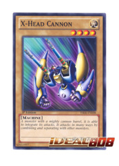 X-Head Cannon - YSKR-EN008 - Common - 1st Edition