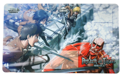 Weiss Schwarz Attack on Titan Case Promo Playmat