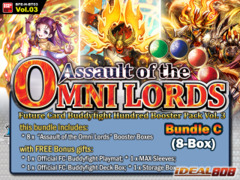 FC-Buddyfight H-BT03 Bundle (C) - Get x8 Assault of the Omni Lords Booster Box + FREE Bonus Items