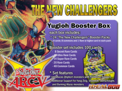 Yugioh The New Challengers Booster Box (1st Edition) <Next> * Pre-Order Ships November 7, 2014 on Ideal808