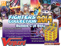 Cardfight Vanguard FC02 Bundle (C) - Get x8 Fighters Collection 2014 Booster Box + FREE Bonus (Sleeves & Playmat) on Ideal808