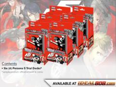 Persona 5 (English) Weiss Schwarz Trial Deck Box [Contains 6 Decks] * DELAYED