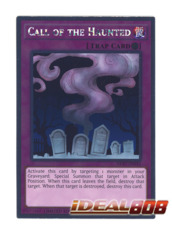 Call of the Haunted - NKRT-EN032 - Platinum Rare - Limited Edition