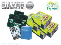 Luck & Loogic BT04 Bundle (B) Silver - Get x4 Aid & Arms Booster Boxes + FREE Bonus