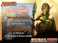 MTGOGW Bundle (B) - Get x4 Oath of the Gatewatch Booster Box + FREE Bonus Items