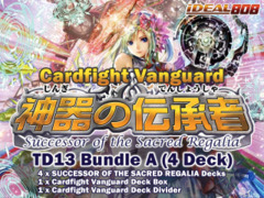 Cardfight Vanguard TD13 Bundle (A) - Get x4 Successor of the Sacred Regalia Trial Decks + FREE Bonus on Ideal808