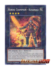 Heroic Champion - Kusanagi - BP03-EN125 - Shatterfoil - 1st Edition
