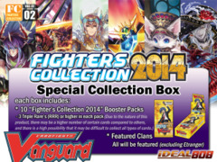 FC02 Fighters Collection 2014 (English) Cardfight Vanguard Booster Box * Pre-Order Ships November 7, 2014 on Ideal808